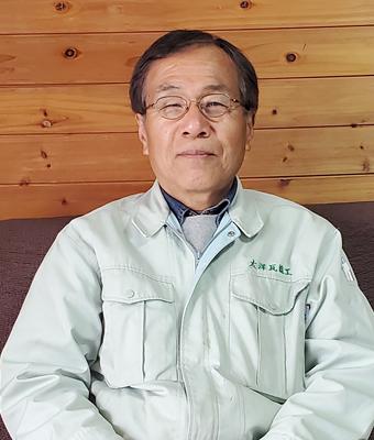 太洋瓦総工 代表 中島光博