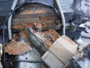 棟:雨漏り箇所