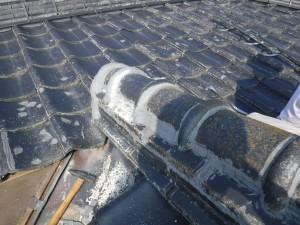 雨漏り修理された屋根