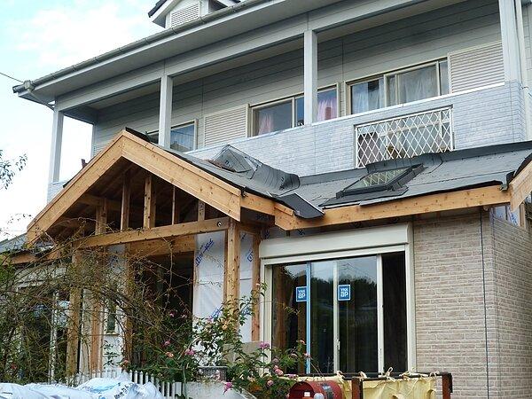 大牟田市吉野において増築リフォームです。 太洋瓦総工の画像