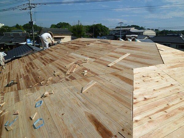 荒尾市野原において新築屋根工事   太洋瓦総工の画像