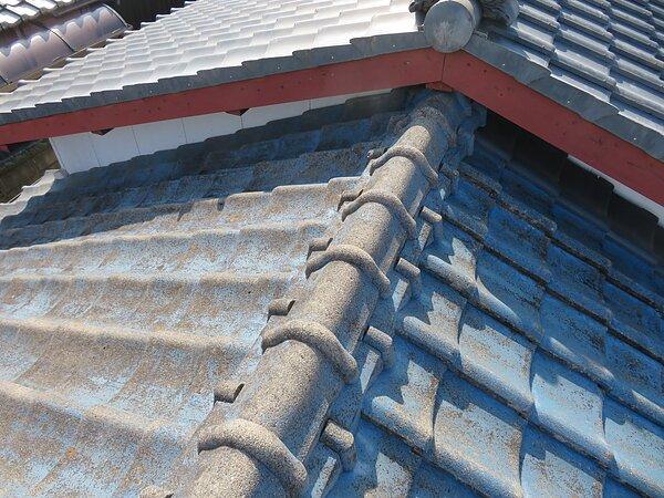 大牟田市上官町において屋根の部分葺き替え::太洋瓦総工の画像