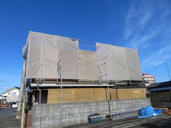 大牟田市汐屋町において屋根瓦の葺き替え   太洋瓦総工の画像