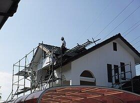 大牟田市甘木にて雨漏り修理のイメージ