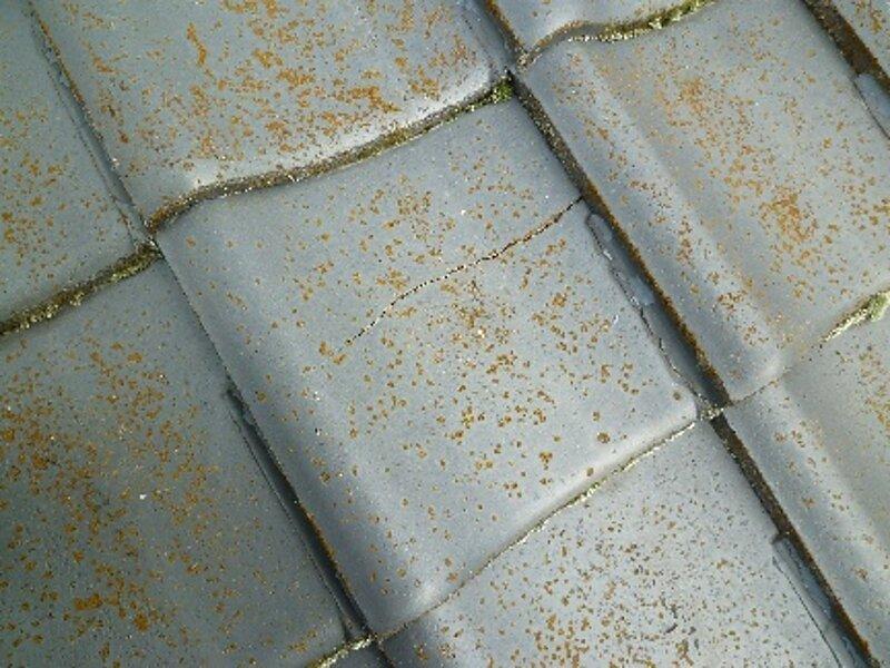 荒尾市 東屋方より 雨漏り修理の依頼です。  太洋瓦総工