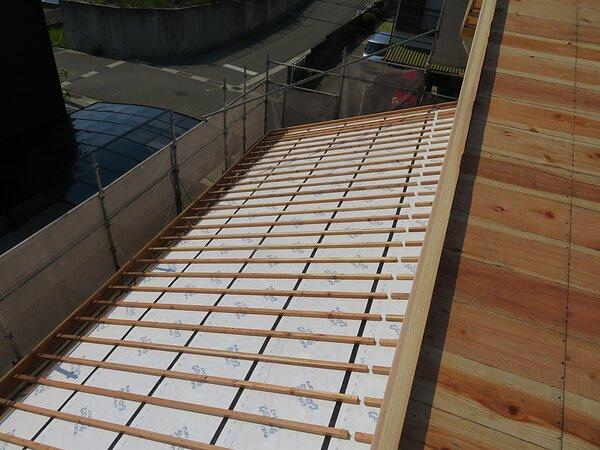 荒尾市 幸野建設 新築現場  2021/06/09の画像