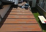 大牟田市白銀にて、板金屋根の張替えのイメージ